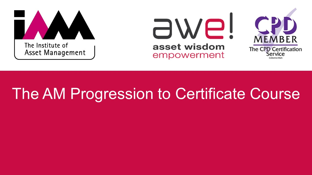 The  AM Progression to Certificate Course