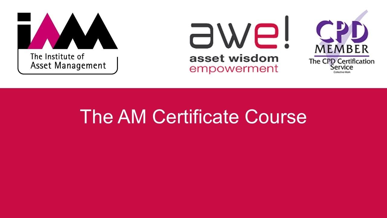 The AM Certificate Course